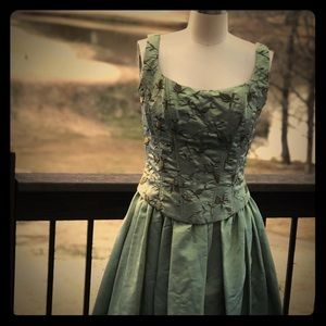 Beautiful Scott McClintock Formal Green Dress